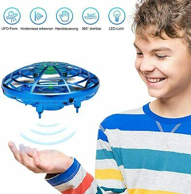 Gesture Control 360 Flying Spin Drone Smart UFO Indoor Kids Girl Boy Toys Gift • 9.95£