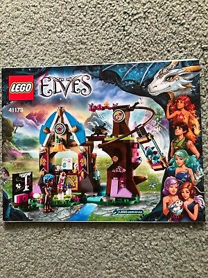 Lego Elves 41173 Instructions ONLY • 2.50£