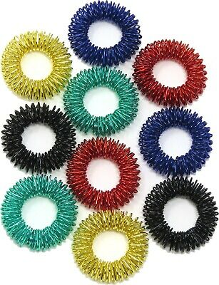10 X Spiky  Finger Hedgehog Stress Relief Fidget Sensory Toy ADHD  Edz Kidz NEW • 4.99£