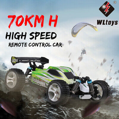 WLtoys A959-B 2.4G 1/18 Scale 4WD 70KM/H Electric RTR Off-Road RC Car I2S2 • 49.15£