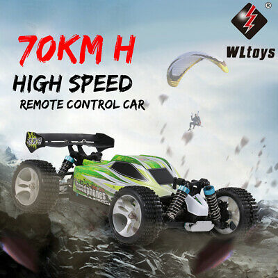 WLtoys A959-B 2.4G 1/18 Scale 4WD 70KM/H Electric RTR Off-Road RC Car I2S2 • 49.50£