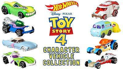 Hot Wheels Toy Story 4 Disney Pixar Set Of 8 Collectable Diecast Vehicles • 29.99£