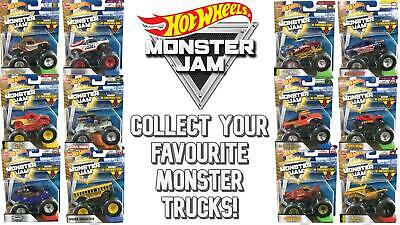 Hot Wheels Monster Jam Collectable - Monster Truck Collection (1:64 Scale) • 11.99£