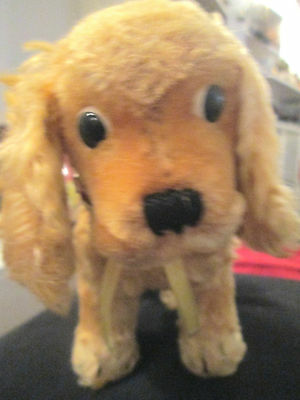 Rare Vintage Steiff Dog Cocker Spaniel • 84.99£