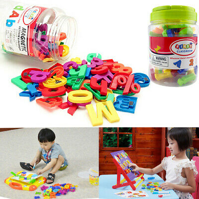 78PCS Fridge Magnetic Alphabet Letters Learning Toy Magnets Xmas Numbers Gift • 6.75£