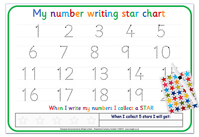 Write Numbers Letters Alphabet Name Shapes Words Card Tracing Eyfs Sen Reusable • 3.25£