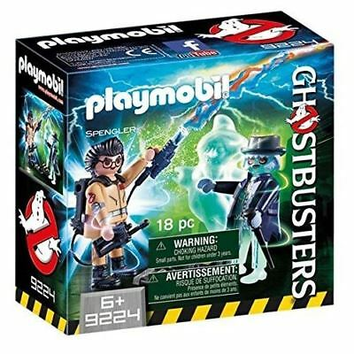 Playmobil 9224 Ghostbusters Spengler With Ghost Set Of Collectible Figures • 7.49£