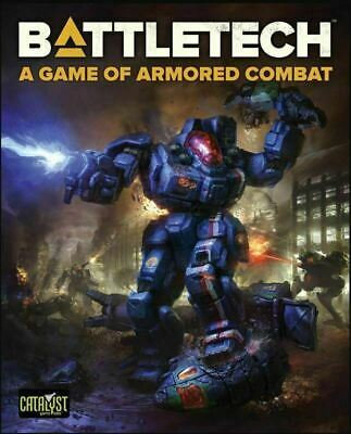BattleTech A Game Of Armoured Combat - Board Game - Core Box - New And Sealed • 57.95£