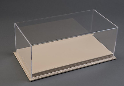 Atlantic Display 10080 Case 1:24 Scale Model Display Case (beige Leather Base) • 40.95£