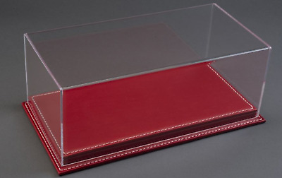 Atlantic Display 10084 Case 1:43 Scale Model Display Case (red Leather Base) • 35£