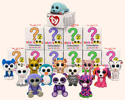 TY MINI BOOS Series 2 Collectible Figures - Choose Your Own - COMBINED POSTAGE • 3.90£