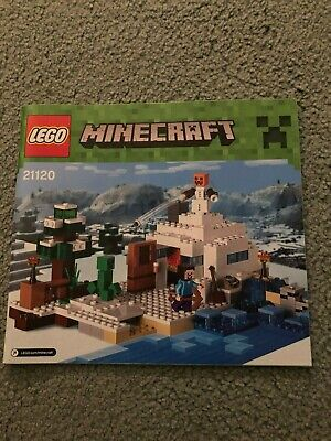 Lego Minecraft 21120 Instructions ONLY • 3.50£