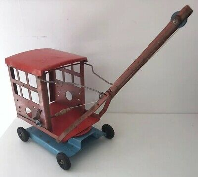 Vintage Triang Crane - Original Metal Toy Crane Tri-ang Collectable • 60£