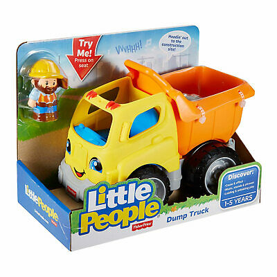 Little People Dump Truck Toy Playset With Action Figure Fisher Price BRAND NEW • 9.99£