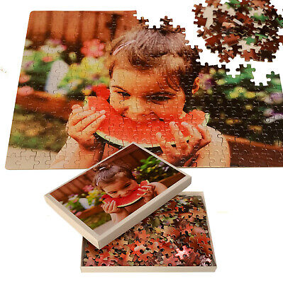 Personalised Photo On A3 Puzzle Print In Box - Custom Own Image On 300pcs Jigsaw • 11.99£