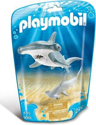 Playmobil 9065 Family Fun Hammerhead Shark With Baby • 9.99£