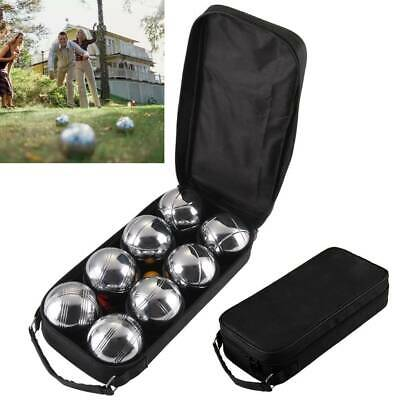 8 Pc Steel French Boules Set Petanque Balls Garden Game Free Carry Case NEW Fun • 20.19£