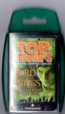 Top Trumps - The Lord Of The Rings - Fellowship Of The Ring - 2002. Free P&p • 9.99£