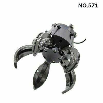 For HUINA 571 RC Excavator Alloy Gripper Tongs Catcher Clip Ball Grabber Machine • 14.16£