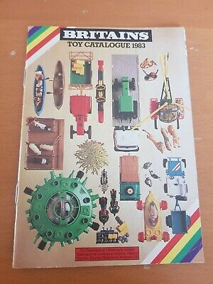 Britains Toy Catalogue 1983 • 19.99£