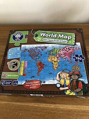 Children's Jigsaw Puzzle World Map • 9£