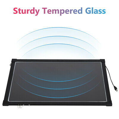 Remote LED Light Up Drawing Writing Board Florescent Sensory Play 40*60cm • 18.99£