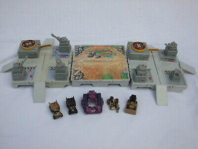 3 X Galoob 1987 Micro Machine Military Bases & Extras With Vehicles • 29.95£