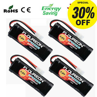 7.2V 3500mAh Ni-MH Battery Pack For RC Cars Truck Drone Female-tamiya Plug UK • 17.99£