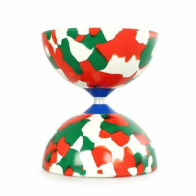 Juggle Dream Jester Diabolo-Red/Green/White (COMES WITHOUT STICKS) • 14.99£