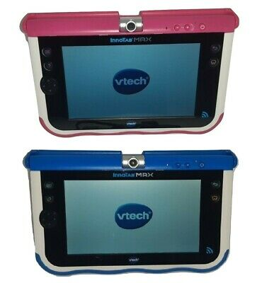 VTech Innotab MAX 7  Tablet - Blue Or Pink Kids Learning Games Educational Toy • 37.99£