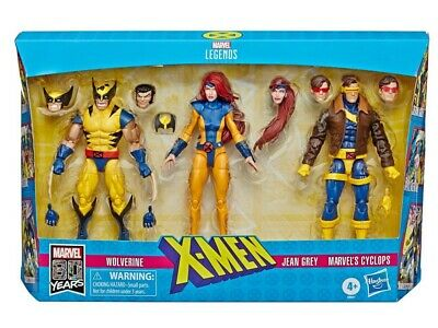 Marvel Legends 6  X-Men (Love Triangle) Wolverine, Jean Grey & Cyclops 3 Pack • 56.99£