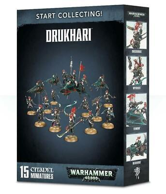 Start Collecting! Drukhari, Succubus/Wyches/Venom/Reavers, Warhammer 40,000 • 55£