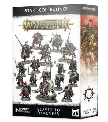 Start Collecting! Slaves To Darkness,Chaos Lord/Knights,Warhammer Age Of Sigmar • 60£