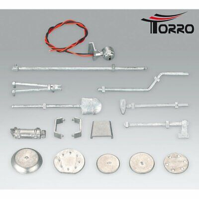Torro Metal 16 Part Accessory Set For King Tiger Heng Long Taigen 1/16 Scale • 18.99£