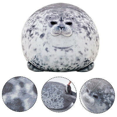 30/40/60cm Soft Plush Seal Doll Pillow Ocean Chubby Blob Stuffed Toy Kids Gift • 9.95£