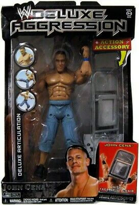 WWE Deluxe Aggression John Cena Figure • 19.99£