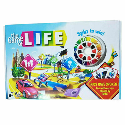 The Game Of Life KIDS HAVE SPOKEN! Board Game • 15.99£
