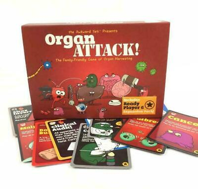 Adult Party Cards Game Organ ATTACK! Board Funny Game • 14.99£