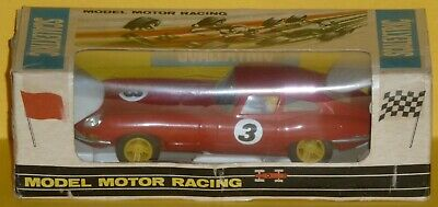 Triang Scalextric GT Jaguar E Type Ref C-34 Red Excellent Boxed • 139.99£