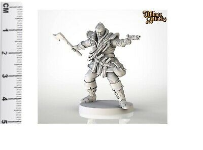 30mm Scale Miniatures: VA Unpainted Male Witch Hunter • 3.50£