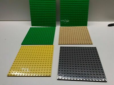 LEGO 16 X 16 Base Plates  Part 91405  Sets Of 1 - Choose Your Colours FREE POST • 4.99£
