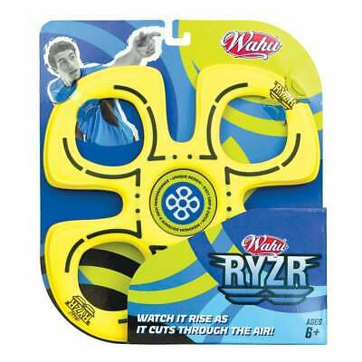 Wahu Ryzr - Yellow - Outdoor Beach Flying Disc • 11.49£