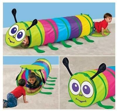 Kids Animal Pop Up Crawl Tunnel Tube Play Tent Toy Garden Game • 14.69£