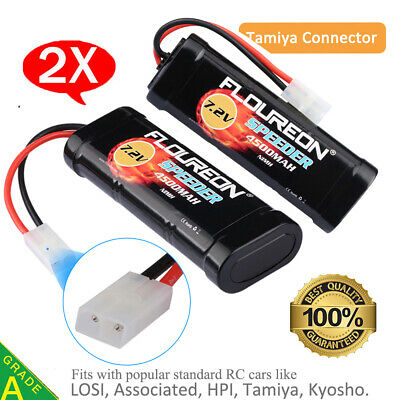 7.2V 3500mAh/4500mAh Ni-MH Battery For RC Cars Truck Drone Female-tamiya Plug UK • 20.99£