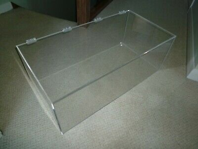 Clear Acrylic Display Case 75 Cm X 27 Cm X 27 • 30£