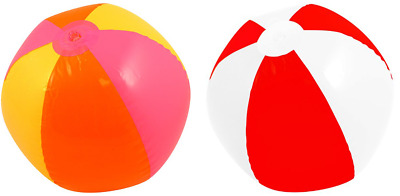 Inflatable Beach Balls Holiday Party Swimming Pool Garden 40cm 50cm 60cm 150cm • 9.90£