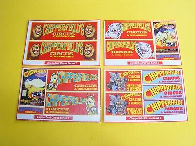 Chipperfield Circus Stickers Series 7  - Pack Of 4 Mini-sheets  • 2.50£