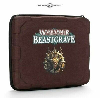 Warhammer Underworlds Beastgrave Carry Case Games Workshop Out Of Production • 18£