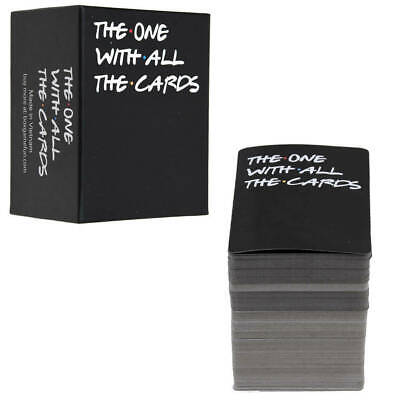 The One With All The Cards Game For Friends TV - Box Against The Friend • 12.99£