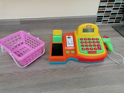 Little Tykes Shopping Till Basket Sound Grocery Supermarket Roleplay... • 4.99£